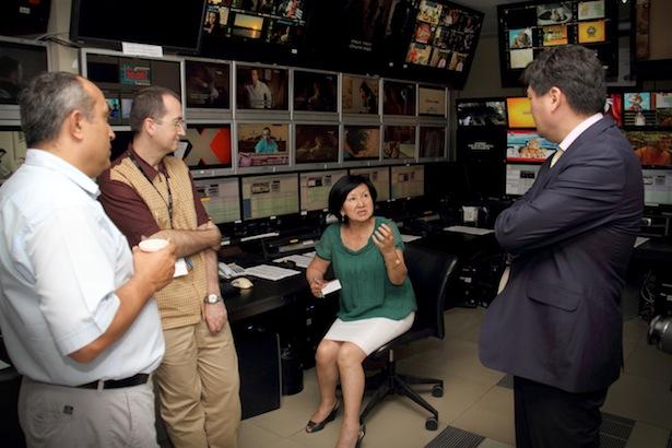 Технические специалисты ОТРК посетили крупный телевизионный холдинг в Стамбуле